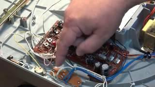 Akai AP D33 turntable overhaul