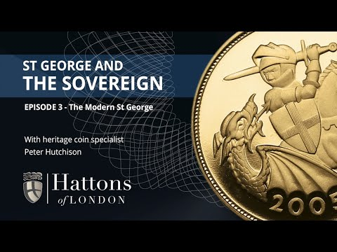 The Expert's View | St George and the Dragon Coin Designs: The Modern St George | Hattons of London