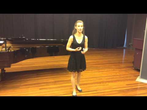 Classical Voice Audition - Laura Rainey