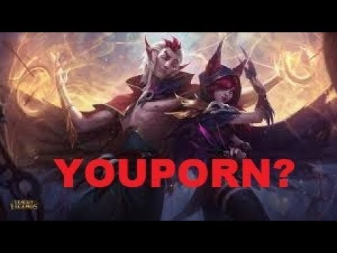 Порно видео leagueoflegends