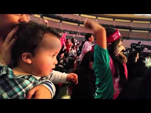 Gael  en concierto Topa junior express Quito