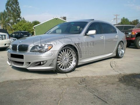 BMW 7 SERIES E65 MT1 BODY KIT