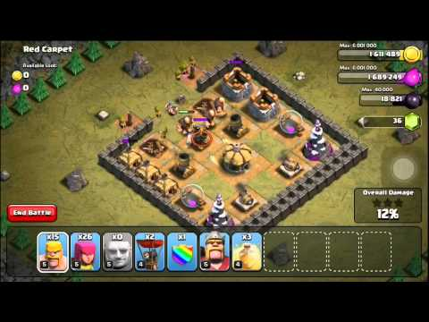 Clash of Clans Level 29: Red Carpet (walkthrough)