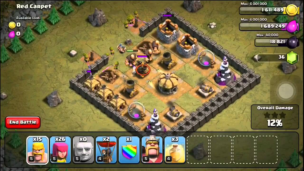 Coc Roter Teppich Clash Of Clans Level 29 Tollebild
