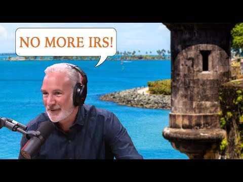How to Legally Escape Taxes by Moving to Puerto Rico : Peter Schiff