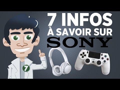 7 choses à savoir sur SONY