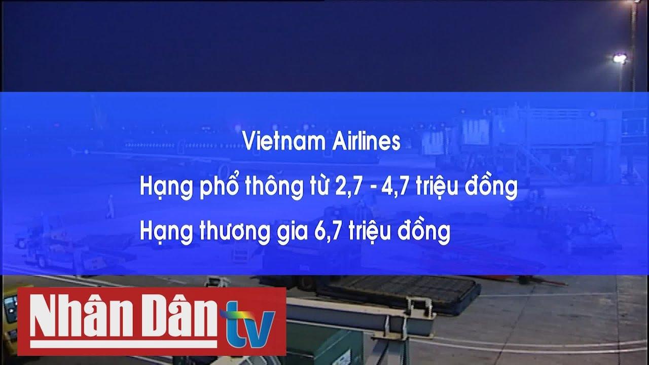 Giá vé máy bay Hà Nội - TP Hồ Chí Minh tăng gần 5 lần