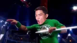 BBoy Huy Milo - WWE 2015 Minitron with Titantron - Just for Fun!
