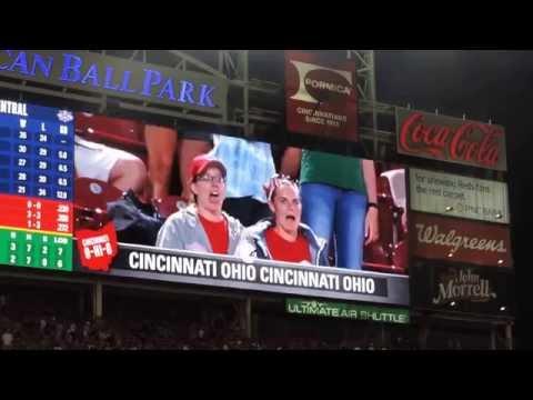 Cincinnati Reds 7th Inning Stretch (June.4, 2014 @Great American Ballpark)
