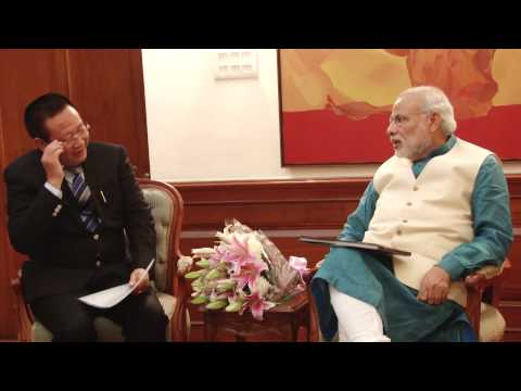 Nagaland CM T.R. Zeliang calls on PM Modi