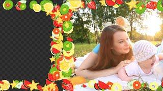 Animation Frame Of Fruit Alpha Channel, Transparent Background