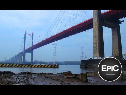 Puente Zárate - Brazo Largo (Complejo Ferrovial) - Argentina (HD)