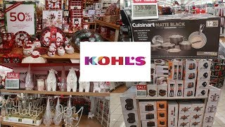 KOHLS SHOPPING / APPLIANCE DEALS & CHRISTMAS DECOR 2019