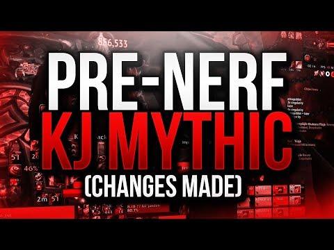 PRE-NERF MYTHIC KIL'JAEDEN