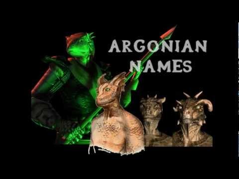 "The Elder Scrolls Lore - QUICK FACT #1 ""Argonian Names"""