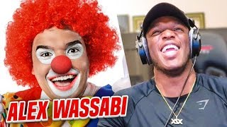 LAUGHING AT: ALEX WASSABI V2