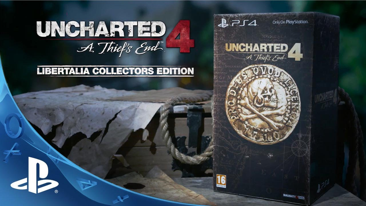 "UNCHARTED 4: A Thief's End ""Libertalia Collectors Edition ..."