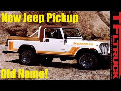 Leaked! New Jeep Wrangler Pickup Details and Santa Cruz News