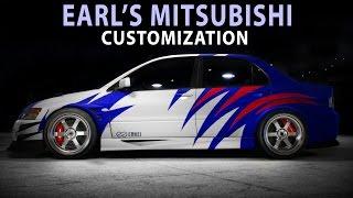 NFS 2015 - Mitsubishi EVO (EARL)(Speed Art / Customization)(PC)