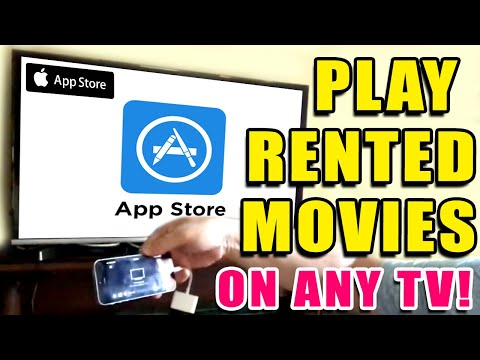 How To Play Apple Store ITunes Rented Movies On TV
