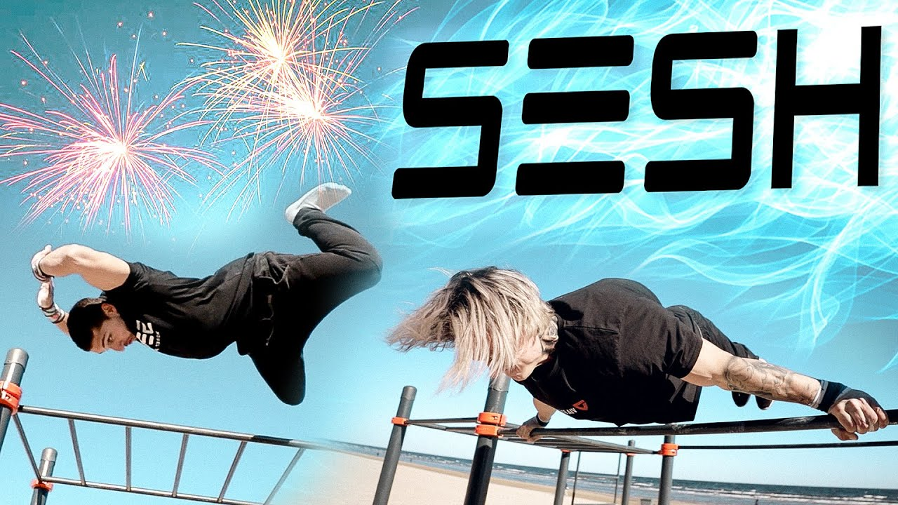 e3f12466 SESH Street Workout #6 | WILD Beach Freestyle | ft. Dan Rosenberg, Daniels  Laizans