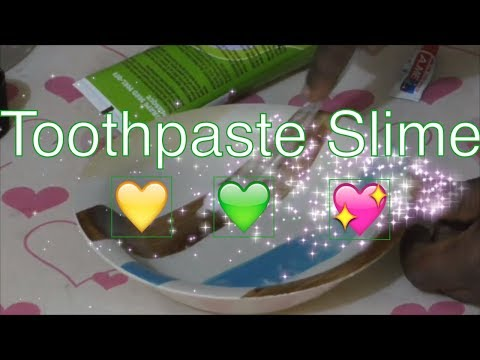 TOOTHPASTE SLIME! 💦 Testing NO GLUE Toothpaste Slime, DIY Slime Without Glue!   Slime Videos