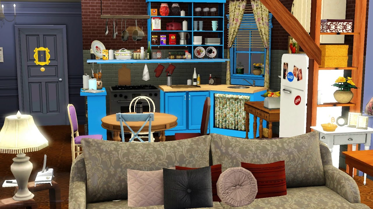 The Sims 3 Build Friends Monica S And Rachel Apartment Tv Series