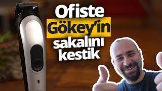 OFİSTE GÖKEY'İN SAKALINI KESTİK! - Braun MGK 7020 Erkek Bakım Kiti inceleme