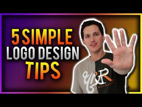 5 SHOCKINGLY SIMPLE Logo Design Tips