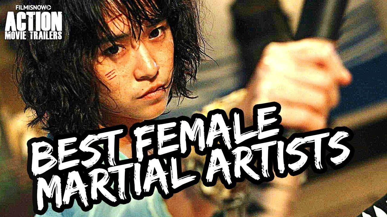 Best Female Martial Arts Action Movie Stars Of Today Youtube