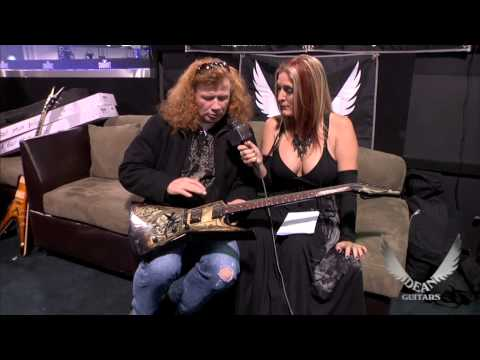 Dave Mustaine interview and NEW Dean Guitars' Dave Mustaine Series product introduction.
