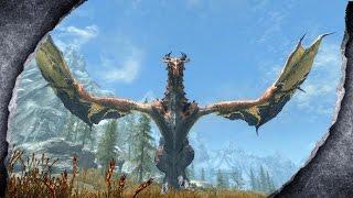 ▶Skyrim Remastered: Fully Flying Dragons 🐲 ♦️MOD SHOWCASE♦️ | Killerkev ✔️