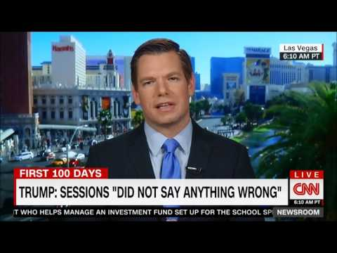 Rep. Swalwell on CNN with Poppy Harlow and John Berman on AG Sessions and Trump-Russia Ties