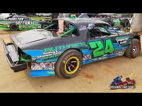 #24 Levi Aldridge - Pure Street - 3-17-18 Moulton Speedway - In Car Camera