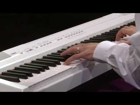 Yamaha P105 88-Key Portable Digital Stage Piano Demo   Full Compass