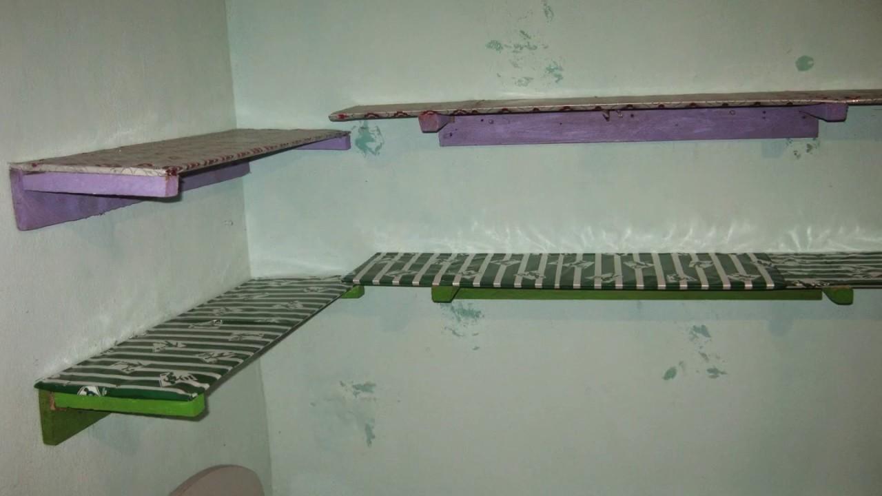 como fazer prateleira de PVC p decorar quarto de bebe  YouTube