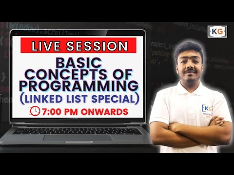 Live Session on Basic Concepts of Programming By Vinay Mishra Sir