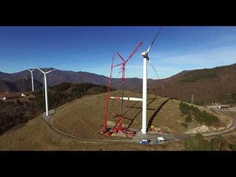 Autovictor wind turbine service with Liebherr LTM1750 - 9.1