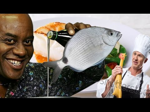 Eating A Spot Tail Pinfish???