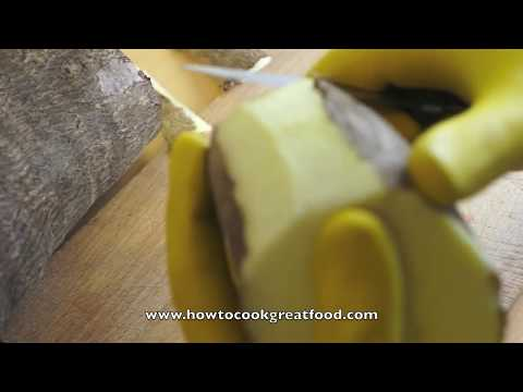 How to cook and prepare Yam recipe vegetable
