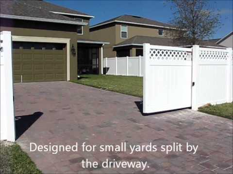 Gifford Fence Automated Cantilever Gate   YouTube