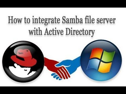 How to integrate Samba file server with Active Directory