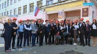 В Архангельской области открыли первый строительный класс
