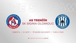 ASTV LIVE   AS Trenčín - SK Sigma Olomouc   2. prípravný zápas