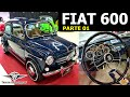 Parte 01   Restauração Completa Do Fiat 600   Ano 1974, Azul, Ar Condicionado, Vídeo Detalhado!