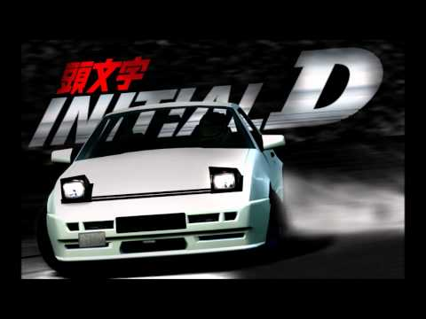 Клип Initial D - Night Of Fire