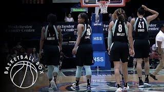 [WNBA] Chicago Sky vs New York Liberty, Full Game Highlights, July 15, 2018