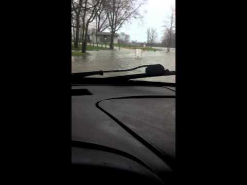 Morris Illinois flood 4/18/2013