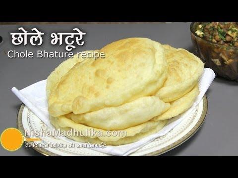 Bhature Recipe - Chole Bhature Recipe - Quick Chole Bhature Recipe