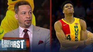 Chris Broussard declares Giannis as the best player in the world   NBA   FIRST THINGS FIRST